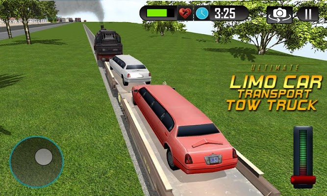 Limo Car Driver Transport 2017 - screenshot