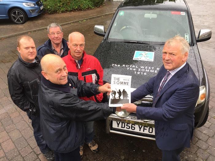 Four Montgomeryshire men head to Mametz Wood