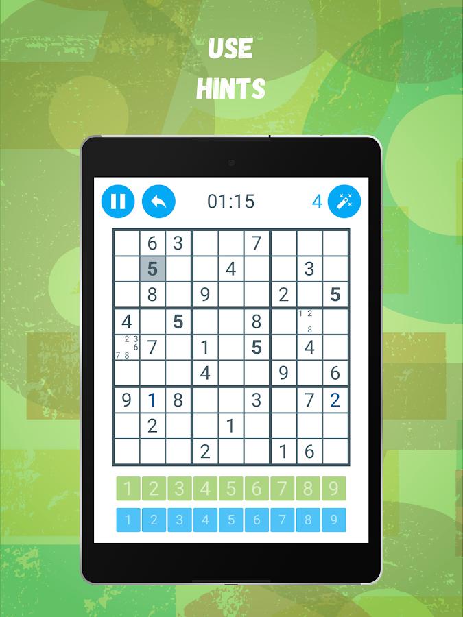 Screenshots of Sudoku: Train your brain for iPhone