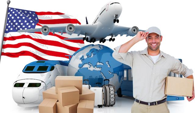 Dragon Express vận chuyển hàng đi Mỹ nhanh chóng với giá cước hợp lý