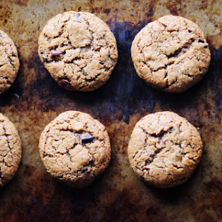One Bowl Peanut Butter Cacao Nib Coconut Flour Cookies (Gluten-Free, Dairy-Free) Recipe
