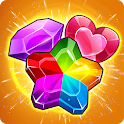 Addictive Gem Mania 💎 Match 3 Games Free New 2019 icon