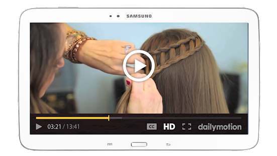 Hairstyle For School Easy Dailymotion : Girls hairstyle videos 2017 android apps on google play