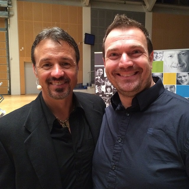 Eric Edmeades and Marius Eriksen