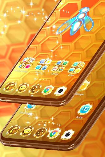 gold theme for whatsapp screenshot 2