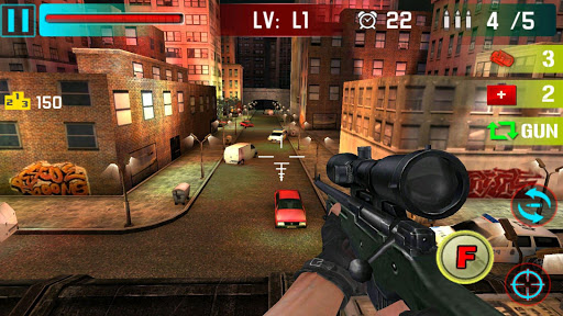 Sniper Shoot War 3D - screenshot