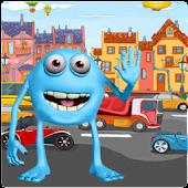 Monster Game: Road Cross Fun