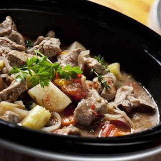 Slow Cooker Beef Heart Stew