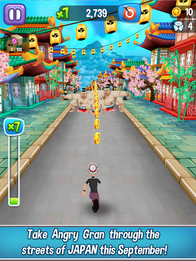 Angry Gran Run - Running Game apktram screenshots 7