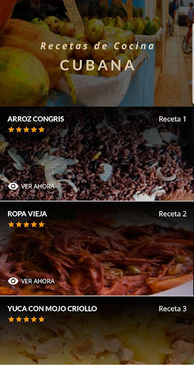 Recetas de Cocina Cubana 3.1 screenshots 1