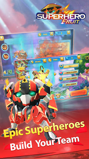 Superhero Fruit: Robot Wars - Future Battles - screenshot