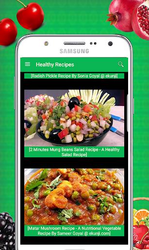 Tasty Healthy Recipes 1.0 screenshots 9