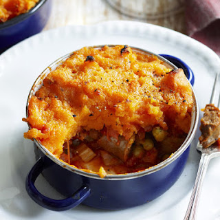 Sausage and Sweet Potato Shepherds Pie