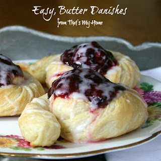 Easy Butter Danish Rolls.