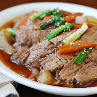 Slow Cooker Beef Bulgogi