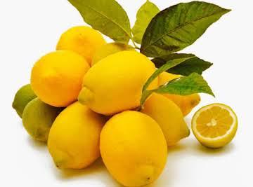 Lemon Slush with Orange Zest Refresher (HCG ok!)
