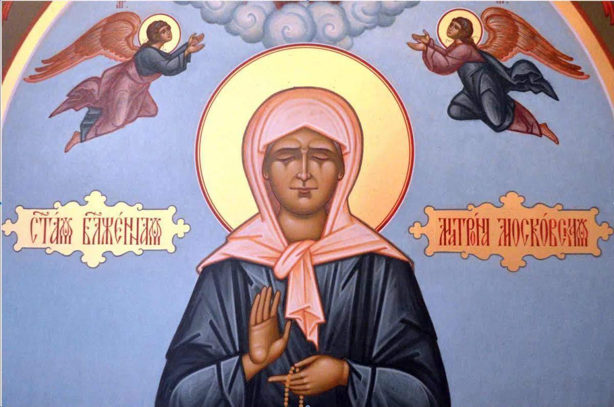 Матрона Московская икона