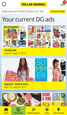 Dollar General - Digital Coupons, Ads And More - screenshot