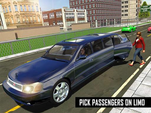 Big City Limo Car Driving Simulator : Taxi Driving 3.8 screenshots 24
