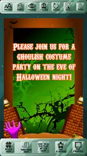 Halloween Celebration Invites - náhled