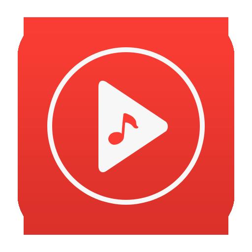Free Music - Red Plus Icon