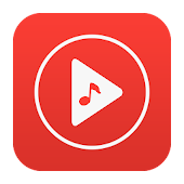 Free Music - Red Plus Icon