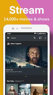 Plex Apk : Stream Free Movies, Shows, Live TV & more 1