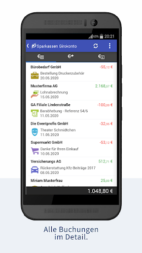 StarMoney - Banking + Kontenübersicht  screenshots 2