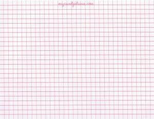 MISTI MINI Grid Paper Pad 40/Sheets