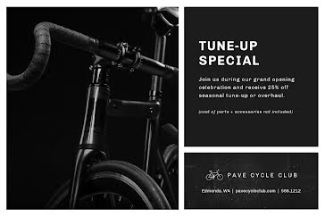Tune-Up Special - Postcard Template