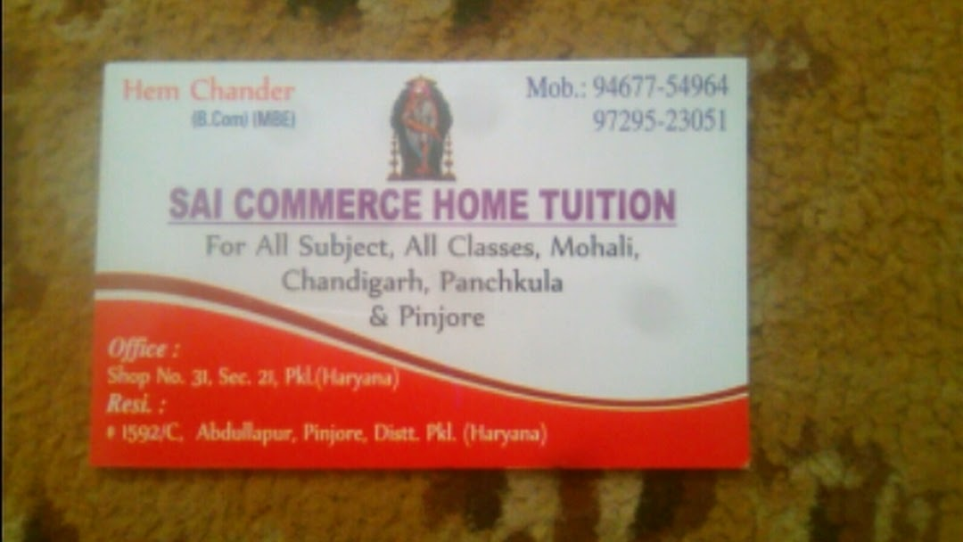 Sai Group Of Home Tuition - Private Tutor in Sector 21
