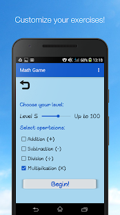 Math Game - Unlimited Math Practice - náhled
