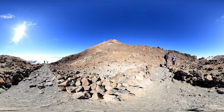 Photo: Teide Teleferico Path Panorama with revised metadata