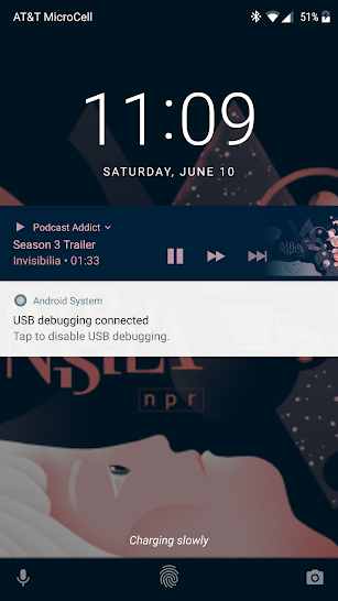 Podcast Addict screenshot for Android