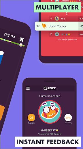 Quizizz Student: Fun Multiplayer Quizzes! 2.4 screenshots 2