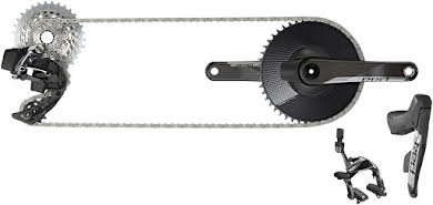 SRAM Red eTap AXS 1x Electronic Groupset: Cable Brake/Shift Levers, Rear Derailleur, D1 alternate image 0