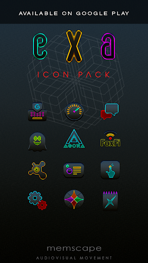 Screenshot for EXA Next Launcher 3D theme in United States Play Store