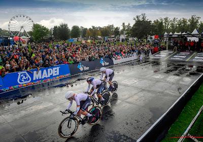 Duitse mannen en vrouwen rijden naar Europese titel in Mixed Team Relay
