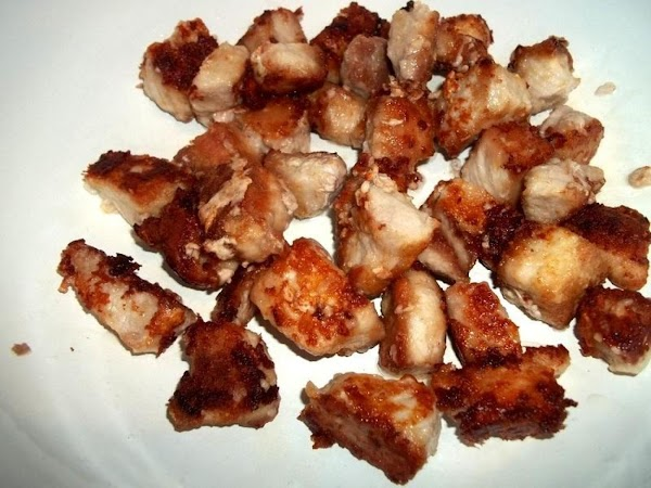 Place browned pork in an oven safe pan or casserole. I used a 6...