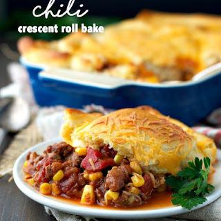 Chili Crescent Roll Bake Recipe