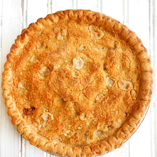 Green Tomato Crumble Pie