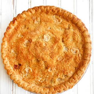 Green Tomato Crumble Pie.