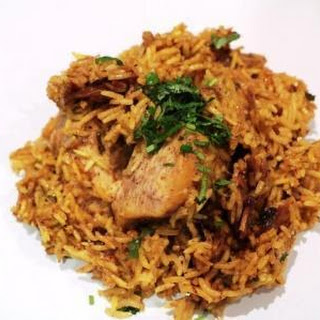 Nawabi Chicken Rice