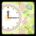 Flower Clock for Gear Fit