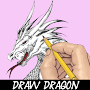 Learn How To Draw Dragon APK icon