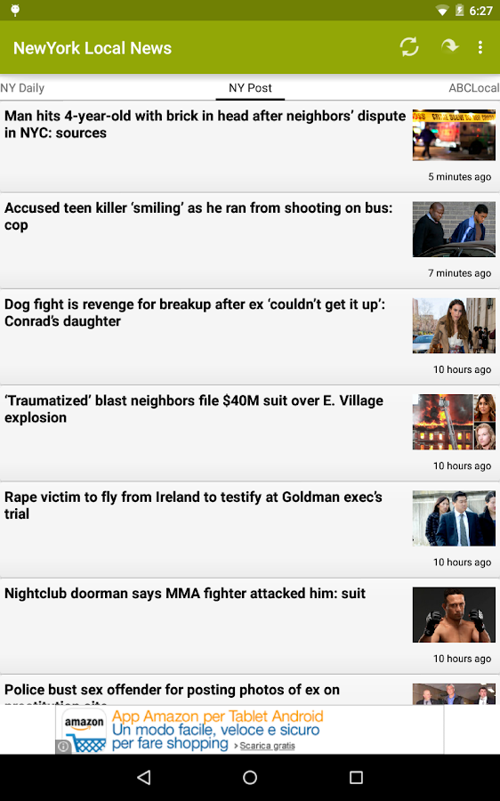 NYC - New York City News - screenshot