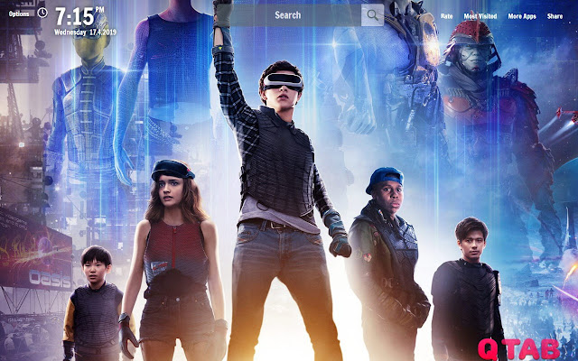 Ready Player One New Tab Wallpapers