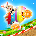Easter Bunny Racing For Kids icon