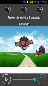 Rádio Metro Hits Sertanejo screenshot 0
