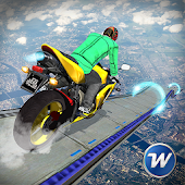 Bike Stunts Racing Moto : Impossible Tracks